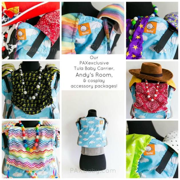 PAXexclusive Tula Baby Carrier, Andy's Room, stocking details for Wednesday December 30, 2015!