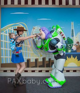 A cowgirl and a space ranger…